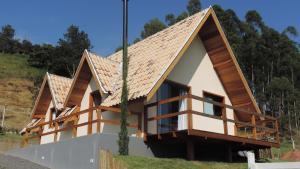 Chale Vale Encantado, Horské chaty  São Bento do Sapucaí - big - 4