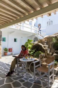Pension Alexandra, Гостевые дома  Тоурлос - big - 9
