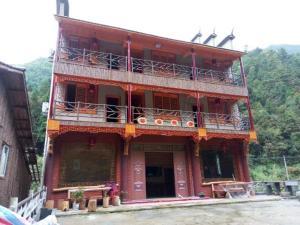Hostels und Jugendherbergen - Songyang Ruoliao Blossom Guesthouse
