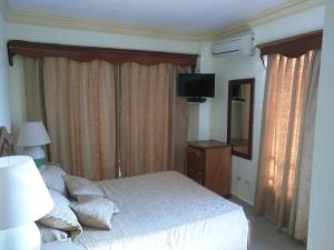 Apartahotel Caribe Paraiso, Апарт-отели  Хуан-Долио - big - 82