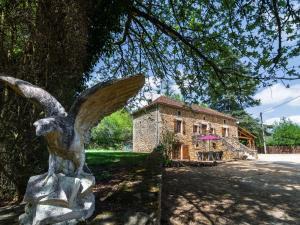 Maison De Vacances - Blanquefort-Sur-Briolance 1, Nyaralók  Saint-Cernin-de-l'Herm - big - 16