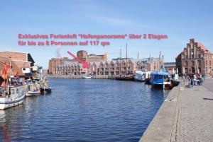 """obrázek - Exklusiv-Traumloft """"Hafenpanorama"""" am Wismarer Hafen"""