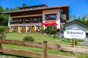 3 hvězdičkový penzion Landhaus Schwaben Bad Wiessee Německo