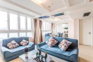 obrázek - 《Loft Mediterranean》Theme Three-bedroom Near Dinosaur Park And Dino Town