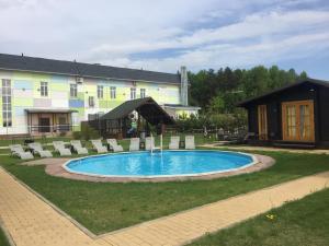Inn Aquarel - Gzhel'