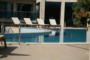 Apart Complex Aquamarine, Aparthotely  Obzor - big - 38