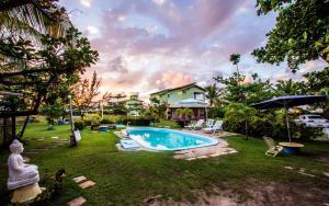 Vila Verde Chalés, Гостевые дома  Estância - big - 100
