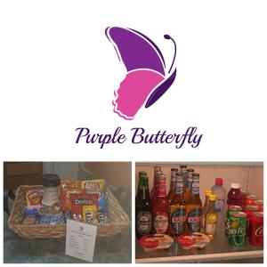 obrázek - Purple Butterfly