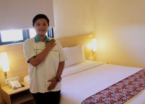 D Inn Rungkut Juanda Surabaya, Szállodák  Surabaya - big - 11