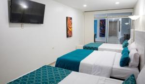 Hotel Boutique El Poblado, Отели  Нейва - big - 46