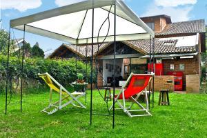 Casa La Villa De Moises, Проживание в семье  Чия - big - 51