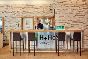 H+ Hotel Salzburg, Отели  Зальцбург - big - 31
