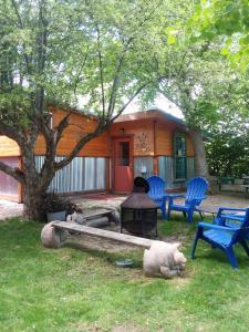 Lava Hideout Cabins, Nyaralók  Lava Hot Springs - big - 30