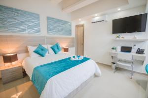 Velik Ocean Hotel Aeropuerto, Szállodák  Cartagena de Indias - big - 57