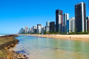 Flat na Praia de Boa viagem, Apartmanhotelek  Recife - big - 22