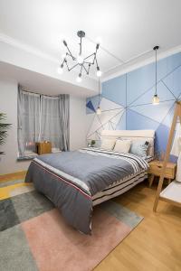 Blue Classic Apartment