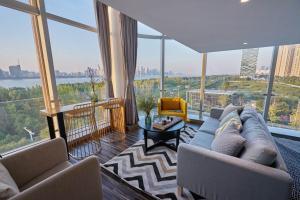 Wisetrip Riverside Apartments, Apartmanok  Hangcsou - big - 83