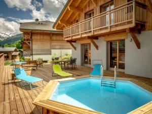 Chalet Le ZenBlanc tout neuf - Morillon - Hotel