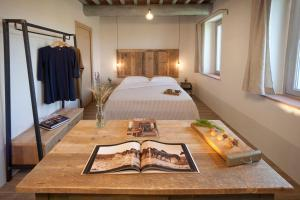 Casale Sterpeti, Panziók  Magliano in Toscana - big - 9
