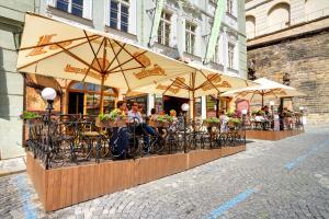Golden Star, Hotels  Prag - big - 34