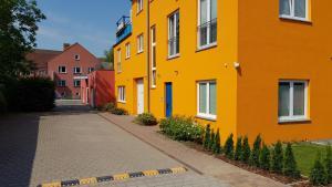 Appartement Vermietung Brunner, Apartmanhotelek  Rostock - big - 42