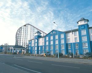 The Big Blue Hotel - Blackpool Pleasure Beach, Szállodák  Blackpool - big - 69