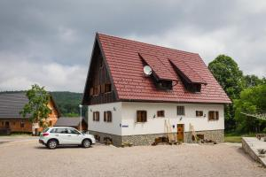 Rustic Lodge Plitvice, Bed and Breakfasts  Jezerce - big - 33