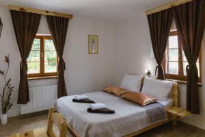 Rustic Lodge Plitvice, Bed and Breakfasts  Jezerce - big - 23