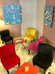 Amerique Hotel Palavas Montpellier Sud, Отели  Палава-ле-Фло - big - 45