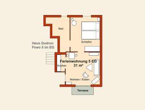 Ferienwohnungen Stranddistel, Apartmány  Zinnowitz - big - 64