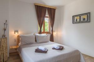 Rustic Lodge Plitvice, Bed and Breakfasts  Jezerce - big - 16