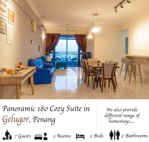 Luxury 4 Bedrooms Suite near Queensbay Mall by D Imperio Homestay, Appartamenti  Bayan Lepas - big - 21