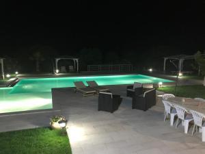 Villa bianca, Виллы  Арцакена - big - 21