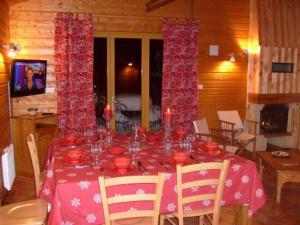 Chalet Les Chalets Des Ayes 7, Шале  Le Ménil - big - 33