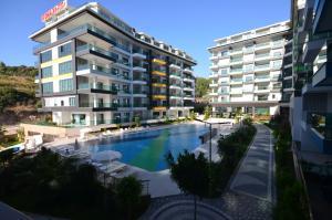 Konak Seaside Resort, Apartmanok  Alanya - big - 122