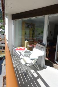 . Haus Dala, 4. Stock, im Zentrum von Leukerbad