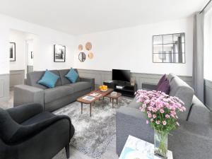 Luxury 3 Bedroom Le Marais, Apartments  Paris - big - 45