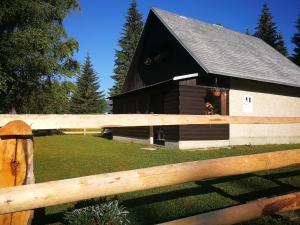 Počitniška hiška na Uskovnici