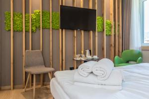 Hotel Garden, Отели  Ледро - big - 92