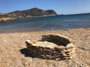 Island White Antiparos Greece