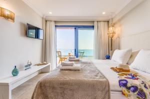 Pyrgos Blue, Apartmanhotelek  Mália - big - 64