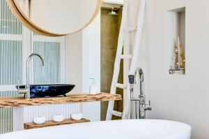 Pyrgos Blue, Apartmanhotelek  Mália - big - 59