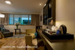 Superior Double Room Caseros 248 Hotel
