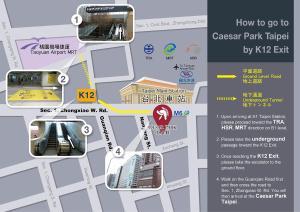Caesar Park Hotel Taipei, Hotels  Taipei - big - 85