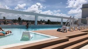Brand New Amazing Apartment Roof Pool In Los Corales
