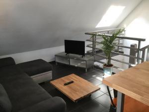 Duplex chocolat vanille, Appartamenti  Saint-Pierre - big - 3