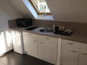 Duplex chocolat vanille, Appartamenti  Saint-Pierre - big - 14