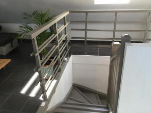 Duplex chocolat vanille, Appartamenti  Saint-Pierre - big - 15