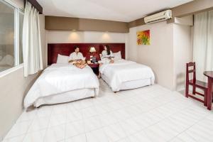 Hotel Maria del Carmen, Szállodák  Mérida - big - 36
