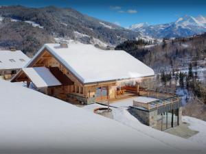 Location gîte, chambres d'hotes Lodge La Source - OVO Network dans le département Haute Savoie 74